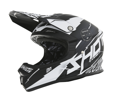 Casque Shot Furious Infinity blanc