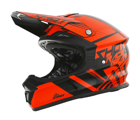 casque-furious-kid-claw-orange