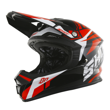 Casque Shot Furious Kid Squad rouge