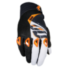 Gants moto cross Shot Devo Kid fast orange