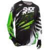 Maillot moto cross shot vert