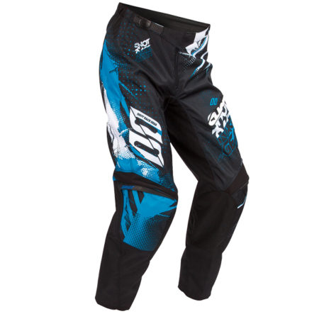 Pantalon moto cross Shot Devo Kid Capture bleu 2016
