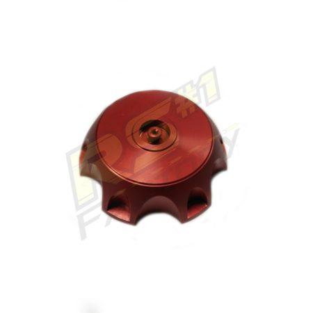 Bouchon de réservoir aluminium Rouge