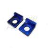 Tendeur de chaîne aluminium bleu diamètre 15