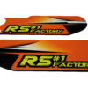 Kit déco protection fourche RS Factory 125 Kronos