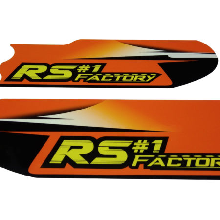 Kit déco protection fourche RS Factory 125 Kronos