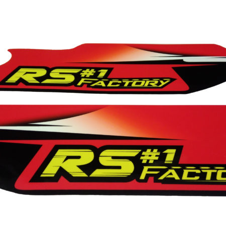 Kit déco protection fourche RS Factory 140 Racer